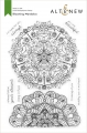 Altenew Clearstamp-Set Blooming Mandalas