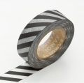 Washi Tape Monochrome Stripe