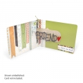 Sizzix Stanzschablone Pop 'n Cuts Magnetic Insert Die - Phrase,Friend Stanzeinsatz - Friend (Freund)