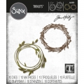 Sizzix Thinlits Dies Stanzschablone By Tim Holtz Funky Wreath