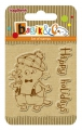 ScrapBerry's Clearstamp Basik's Happy Holiday