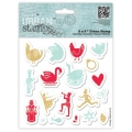 Gummistempel Urban Stamp 12 Days of Christmas Icons