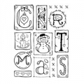 Clear Magic Singles Clearstamp Seasonal Sampler