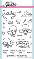Heffy Doodle Clear Stamps Set - Absotoothly Awesome - Stempel Zahnfee