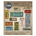 Bild 1 von Sizzix Thinlits Dies Stanzschablone By Tim Holtz Ticket Booth