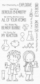 My Favorite Things - Clear Stamps BB Cute Chemists - Im Chemielabor