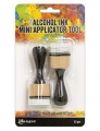 Tim Holtz® Alcohol Ink Mini Applicator Tool - Griff für Filzpads (rund)
