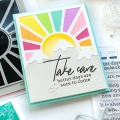 Bild 12 von Pinkfresh Studio Cling Rubberstamp - Pop Out: Sunburst Cling Stamp set - Stempelgummi