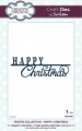 Creative Expressions Craft Die Stanze - Festive Collection Happy Christmas