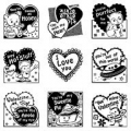Clearstamps Valentine Inchie