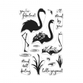 Hero Arts Clear Stamps Color Layering Flamingo