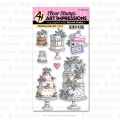 Art Impressions Stamp & Die Set - Wedding Cake Set