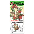 Art Impressions Clearstamps Floral Birdhouse PopCard