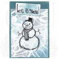 Bild 4 von The Art of Brett Weldele Cling Mount Stamps Gummistempel - Blizzy the Happy Snowman