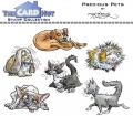 The Card Hut Clear Stamps - Precious Pets - Stamp Set