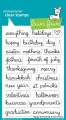 Lawn Fawn Clear Stamps  - Clearstamp happy everything