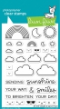 Bild 1 von Lawn Fawn Clear Stamps  - Clearstamp All The Clouds