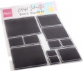 Marianne Design Clear Stamps Colorful Silhouette - Basic Quadrate