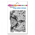 Stampendous Cling Stamps Owl Eyes Rubber Stamp - Gummistempel Eule