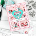 Bild 9 von Whimsy Stamps Clear Stamps - Yeti for Love