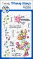 Whimsy Stamps Clear Stamps  - Fairy Llamacorn Magic