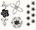 studio g Clearstamps Blumen 14