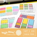 Bild 2 von Waffle Flower Color Swatches For Inkpads Stamp Set - Stempel Pfeilspitze