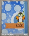 Bild 4 von Whimsy Stamps Clear Stamps  - Penguin Life's a Beach - Pinguine am Strand