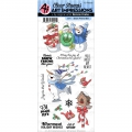 Art Impressions Clearstamps Snow Friend Set