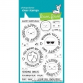 Lawn Fawn Clear Stamps  - Clearstamp Reveal Wheel Circle Sentiments