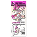 Art Impressions Clearstamps Tea Party PopCard