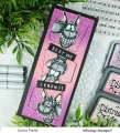 Bild 11 von Whimsy Stamps Clear Stamps - Wonky Donkey Esel