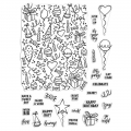 Hero Arts Color Layering Clear Stamps - Wish Big Peek-A-Boo Parts