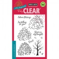 Hero Arts Clear Stamps Color Layering Autumn Trees