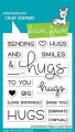 Lawn Fawn Clear Stamps - Long Distance Hugs