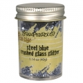 Stampendous Crushed Glass Glitter Steel Blue