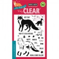 Hero Arts Clear Stamps Color Layering Cool Fox