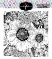 Colorado Craft Company Clear Stamps - Big & Bold~Anemone & Alium