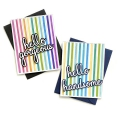 Bild 4 von Pinkfresh Studio Cling Rubberstamp - Pop Out: Straight Stripes Cling Stamp set - Stempelgummi