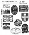 Tim Holtz Stempelgummis Travel Labels