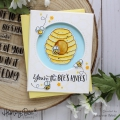 Bild 2 von Honey Bee Stamps Clearstamp - Hi Honey - Textstempel