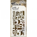 Tim Holtz Collection Schablone Layering Stencil Numberic