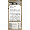 Tim Holtz Collection Schablone Mini Layering Stencil Set #18