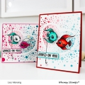 Bild 7 von Whimsy Stamps Clear Stamps  - Best Fishes - Party Fische