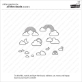 Bild 5 von Lawn Fawn Clear Stamps  - Clearstamp All The Clouds