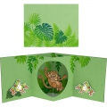 Bild 7 von Stampendous! Monkey Cling Rubber Stamps And Cutting Dies Set - Stempel mit Stanzen Affe