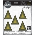 Sizzix Thinlits Dies Stanzschablone By Tim Holtz Stacked Tiles Triangles