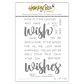 Honey Bee Stamps Clearstamp - Wish - Texte/Wörter