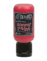 Dylusions Shimmer Paint - Schimmerfarbe Postbox Red