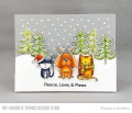 Bild 5 von My Favorite Things - Clear Stamps Peace, Love, & Paws - Hund, Katze